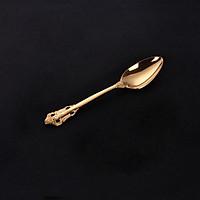 Muỗng Ăn Lớn Inox #304 Cao Cấp Mạ Vàng Phong Cách Cổ Điển