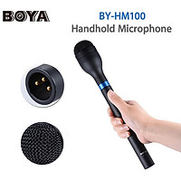 Micro thu âm phỏng vấn BOYA BY-HM100 hàng chính hãng.