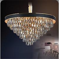 Đèn chùm pha lê cao cấp thiết kế sang trọng trang trí phòng khách, nhà hàng, quán cafe, khách sạn CFL 9904/800