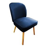 Ghế bàn ăn JYSK Fyn đệm vải polyester chân sồi 48xS56xC75cm