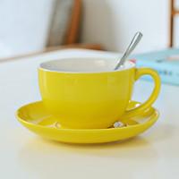 Ly Cafe Sứ Cao Cấp Kèm Thìa Inox - Thép Không gỉ
