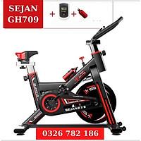Xe đạp thể dục tại nhà GH709 - Hỗ trợ đo nhịp tim