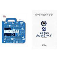 Combo: Hiểu Hết Về Kinh Doanh + 21 Bài Học Cho Thế Kỷ 21 / Top Sách Hay Bán Chạy Nhất Tháng
