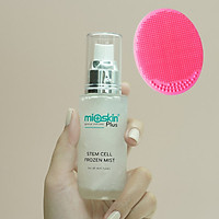 Mioskin Plus - Xịt Dưỡng Tế Bào Gốc Hàn Quốc chai nhỏ gọn 50ml, Tặng Kèm Miếng Pad Rửa Mặt Màu Ngẫu Nhiên
