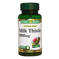Thực Phẩm Chức Năng Bổ Gan Nature's Bounty Milk Thistle 1000Mg (50 Viên) - Trắng