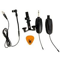 Bộ Microphone không dây Wireless dùng cho Đàn Violin, Guitar, Kèn, Sáo, Nhị, Saxophone, Mic Nhạc cụ Dân Tộc và Mọi loại Nhạc Cụ khác Dr.MIC W8-8+B10 - Kèm Móng Gảy DreamMaker