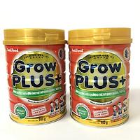 Combo 2 hộp Nutifood Grow Plus+ Đỏ 900g : Sữa cho trẻ từ 1-10 tuổi bị suy dinh dưỡng, thấp còi