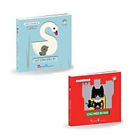 Combo - Truyện cổ tích hình nổi - Vịt con xấu xí + Chú mèo đi hia