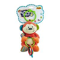 Thú bông xúc xắc treo cũi khỉ con Winfun 0119