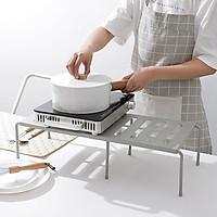 Kệ nhà bếp đa năng gấp gọn dùng để úp chén; dĩa hoặc để đồ, bếp gas 69x24x15cm+ Tặng kèm hình dán ngẫu nhiên