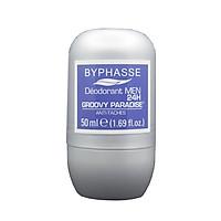Lăn khử mùi dành cho nam Byphasse Groovy Paradise (50ml) xám xanh
