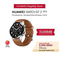 Đồng hồ thông minh Huawei Watch GT2   Kirin A1   Thời lượng pin dài   Kiểu dáng thể thao thời thượng   Hàng Phân Phối Chính Hãng