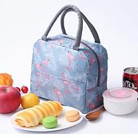 Túi Đựng Hộp Cơm - Túi đựng cơm giữ nhiệt chống thấm có Khóa Kéo - màu Ngẫu nhiên