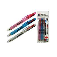 Set 3 bút bi 4 màu nội địa Nhật Bản