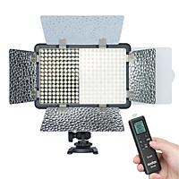 Godox LF308Bi Bi-color Temperature LED Flash Light Photography Fill-in Lamp Video Light 3300K-5600K 18W Smartphone APP/