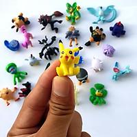 Đồ chơi mô hình Pokemon vui nhộn (24 chi tiết)