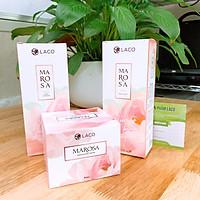 Combo Làm sạch da MAROSA: Tẩy trang Marosa, Sữa rửa mặt Marosa, Tẩy da chết Marosa (03 sản phẩm)