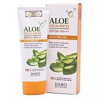 Kem chống nắng dưỡng da tác dụng 8h cao cấp Hàn Quốc tinh chất lô hội Dabo Aloe Stem Rich Sun Cream (70ml) – Hàng Chính Hãng