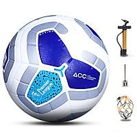 Banh bóng đá đúc ngoại hạng - Quả bóng đá da số 5 tiêu chuẩn thi đấu - Tặng bơm + kim bơm + túi lưới