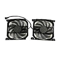 1 Cặp Quạt Làm Mát T129215SU, GTX780-DC2OC-3GD5 Tản Nhiệt Cho ASUS GeForce GTX 780 DirectCU II