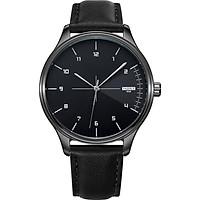 Đồng hồ nam SIêu Mỏng YAZOLE YE5002 DOanh Nhân 2020 Sang trọng Dây Da PU cao Cấp