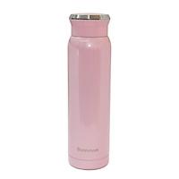 Bình giữ nhiệt Bonnman inox 316 chống ăn mòn cao, màu hồng, giữ nhiệt cực tốt