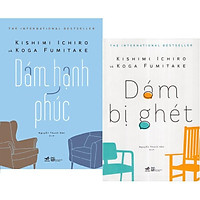 Sách - Combo Dám Bị Ghét + Dám Hạnh Phúc (Bộ 2 Cuốn)(lẻ, combo tuỳ chọn)