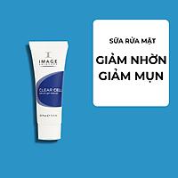 Sữa Rửa Mặt Se Khít Lỗ Chân Lông - Image Clear Cell Salicylic Gel Cleanser  - Dành Cho Da Nhờn 7.4ml