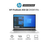 Laptop HP ProBook 450 G8 2H0W1PA i5 1135G7 | 8GB RAM | 256GB SSD | 15.6 FHD | MX450 2GB | FP | Win 10 | Bạc - Hàng Chính Hãng