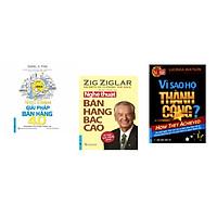 Combo 3 cuốn sách: Giải Pháp Bán Hàng 4.0 + Nghệ Thuật Bán Hàng Bậc Cao + Vì Sao Họ Thành Công 1?