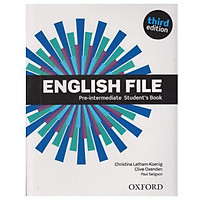 English File 3rd Edition Pre-Intermediate Student Book