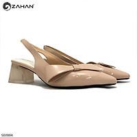 Sandal HT shoes 3f, bít mũi hở gót SD2004