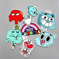 Set 30 Sticker Gumball