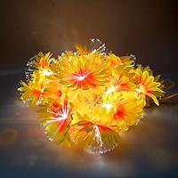Dây đèn led hoa hướng dương nhụy là sợi phát quang