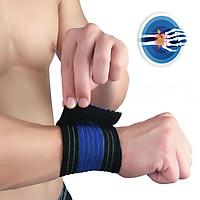 Adjustable Wrist Protection Elastic Bandage Band Strength Training Wrist Guard for Weightlifting Sports etc