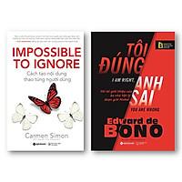 Combo Sách: Cách Tạo Nội Dung Thao Túng Người Dùng + Tôi Đúng Anh Sai