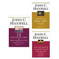 Combo Sách Tư Duy Kỹ Năng Sống : 10 Nguyên Tắc Vàng Để Sống Không Hối Tiếc+ Tạo Dựng Sự Khác Biệt+ Nhà Lãnh Đạo Giỏi Giải Quyết Vấn Đề Như Thế Nào? ( Tặng kèm Bookmark Green Life)