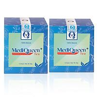 Combo 2 hộp Trà thảo mộc  MediQueen - Giúp ăn ngon, ngủ ngon - cải thiện cân nặng vóc dáng
