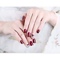 Bộ 24 móng tay giả nail thơi trang (như hình-M312)