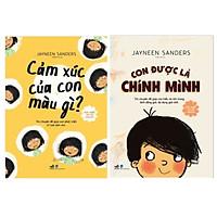 Combo 2 cuốn Phát Triển Trí Tuệ Cảm Xúc: Cảm Xúc Của Con Màu Gì + Con Được Là CHÍNH MÌNH