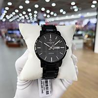 Đồng hồ pin, đồng hồ nam dây thép DM1204SWA full box, kính sapphire chống xước, chống nước