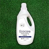 Nước Rửa Tay Bồ Hòn Hữu Cơ ECOCARE 1 lít - Sạch khuẩn, chăm sóc da tay, tinh dầu khử mùi - Mẫu mới 2020