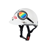 Mũ Bảo Hiểm Andes Trẻ Em - 3SHALYS Tem Bóng W321 - Trắng