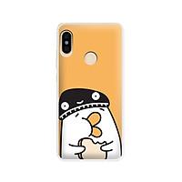 Ốp lưng dẻo cho điện thoại Xiaomi Redmi Note 5 / Note 5 Pro - 01124 7901 DUCK04 - Hàng Chính Hãng