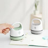 Desktop Vacuum Cleaner Small Size Clean Scraps Machine Portable Wireless Dust Collector