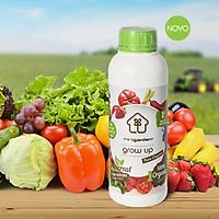 Phân Hữu Cơ Dạng Nước Nhập Khẩu dùng cho rau sạch nhà phố (Chai 1 Lít) với dinh dưỡng thích hợp và an toàn cho gia đình trồng rau sach tại nhà