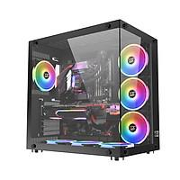 Case máy tính Xigmatek Aquarius Plus Black - Hàng chính hãng