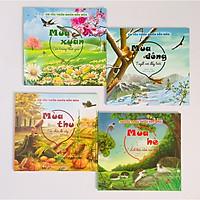 Combo 4 cuốn Em yêu thiên nhiên bốn mùa: Mùa Xuân + Mùa Hạ + Mùa Thu + Mùa Đông
