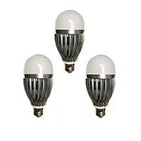 Đèn LED búp nhôm tiết kiệm điện 9W bộ 3 cái (Trắng ấm).