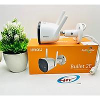 Camera IP Wifi Ngoài Trời Imou F22FP Bullet 2E Full HD 1080P CÓ MÀU BAN ĐÊM, KÈM THẺ NHỚ 64G - Hàng Chính Hãng